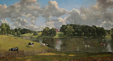 Wivenhoe Park, as painted by John Constable