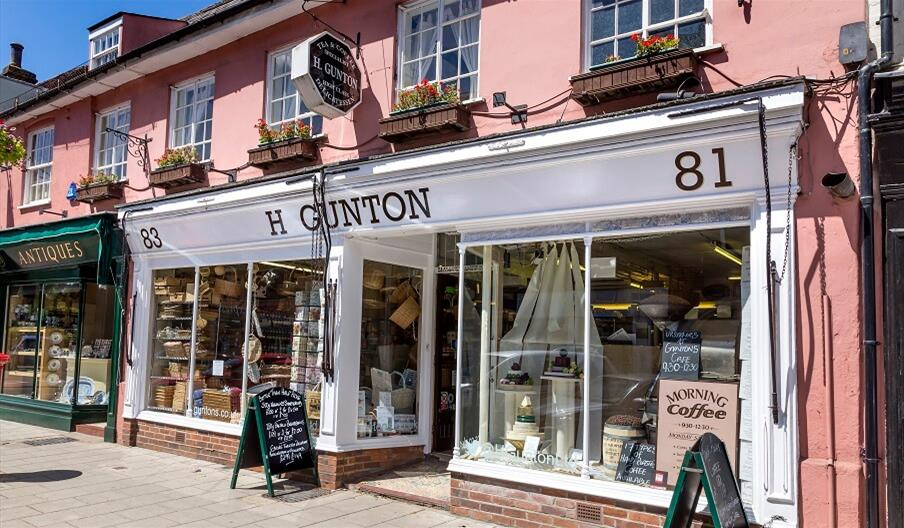 H. Gunton Tea and Coffee Specialists