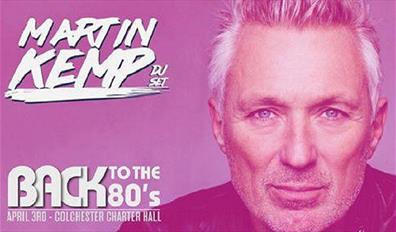 Martin Kemp's Back to the 80's Party