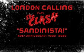 "London Calling play The Clash ""Sandinista"" 40th anniversary 1980 - 2020"