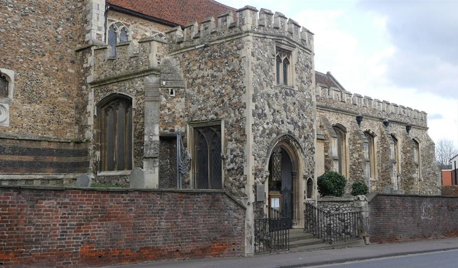 Church of St Leonard-at-the-Hythe